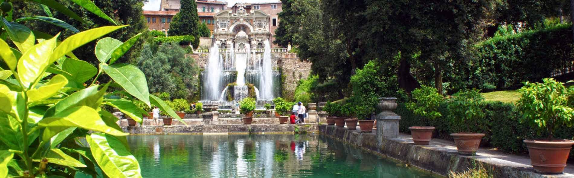 Hadrian's Villa, Villa d'Este, Tivoli private tour