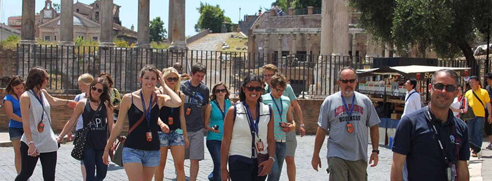 Group guided tours