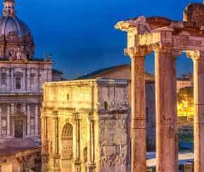 rome night, guided private tour