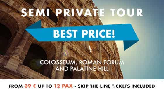 Semi private tour Colosseum Rome Palatine Hill